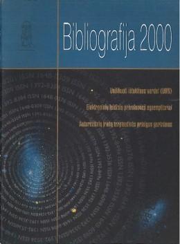Bibliografija 2000