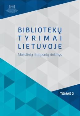 Bibliotekų tyrimai Lietuvoje : mokslinių straipsnių rinkinys. T. 2.